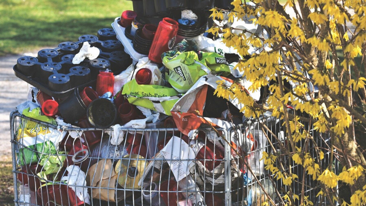 sampah daur ulang