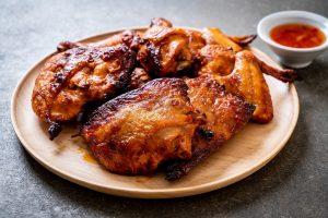 ayam bakar pedas manis teflon