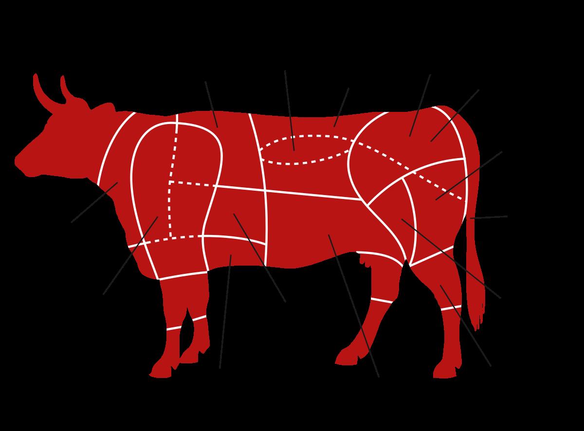 potongan bagian daging sapi untuk membuat steak