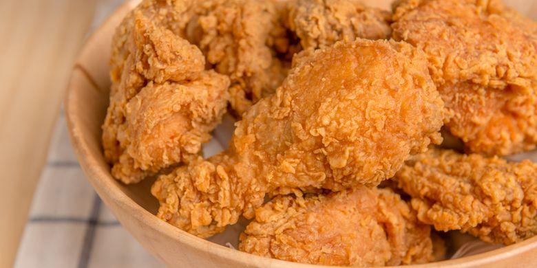 Cara Bikin Ayam Kentaki Krispi
