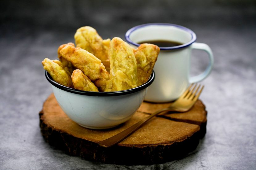 cara membuat pisang goreng crispy coklat keju